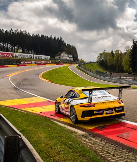 Eau Rouge - Team GP Elite op Spa-Francorchamps